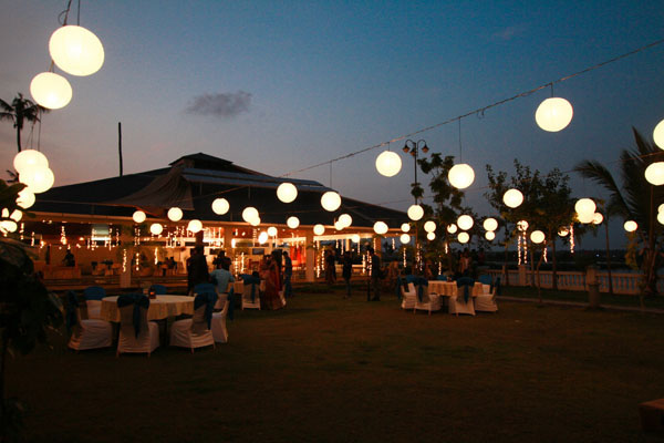 Lighting decor by Red Carpet Events