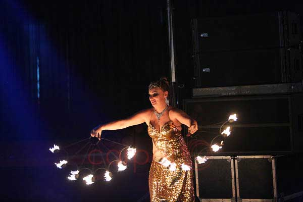 Fire Dance Foreign -Artist Management by Red Carpet Events at Prem Mahal Karur India Corporate Events Gallery