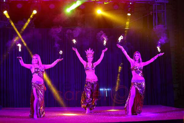 Group Fire Dance -Artist Management by Red Carpet Events at Prem Mahal Marriage Hall Karur India Corporate Events Gallery