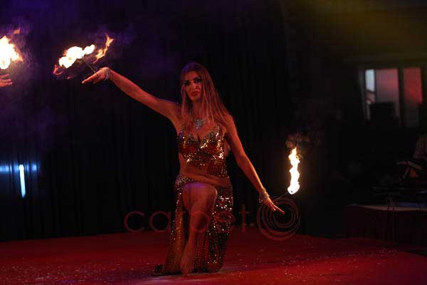 Fire Dance Single Foreign -Artist Management by Red Carpet Events at Prem Mahal Marriage Hall Karur India Corporate Events Gallery