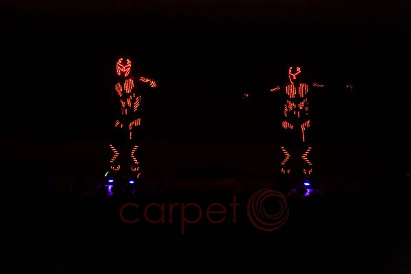 LED Dance -Artist Management by Red Carpet Events at Hotel Leela Raviz Kovalam India Corporate Events Gallery