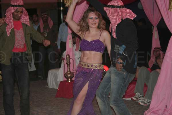 Belly Dance -Artist Management by Red Carpet Events at Club Mahindra Resort Munnar India Corporate Events Gallery