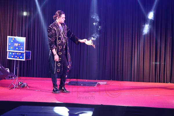 Hazan Rizvi Illusionist -Artist Management by Red Carpet Events at Prem M ahal Marriage Hall Karur Coimbatore India Corporate Events Gallery
