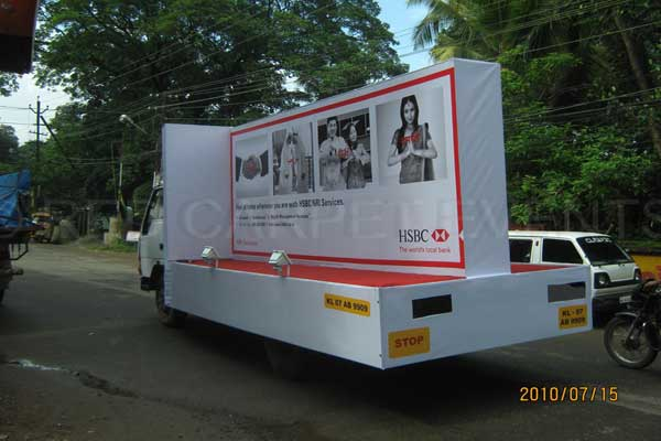 Road show Tata 407 -BTL Activations by Red Carpet Events at dealer points kerala India Corporate Events Gallery