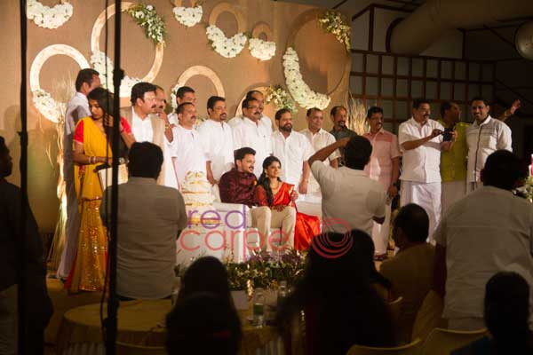 crowd at ben lalu alex betrothal -Christian wedding planning by Red Carpet Events at backwater ripples kottayam kerala India Wedding Planning Gallery