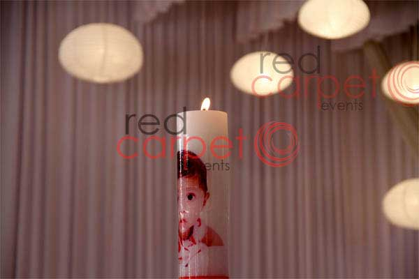 customised candle with baby picture -Birthdays and Baptism planning by Red Carpet Events at makkam kunnu pathanamthitta kerala India Wedding Planning Gallery