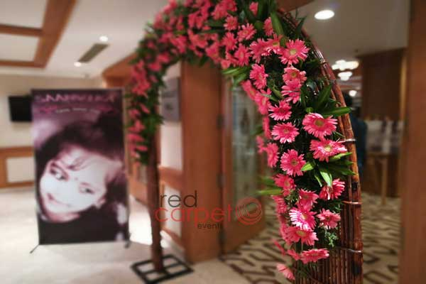 welcome floral arch -Birthdays and Baptism planning by Red Carpet Events at hotel crowne plaza kochi kerala India Wedding Planning Gallery