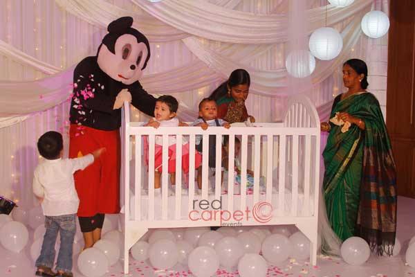 mickey mouse for baptism party -Birthdays and Baptism planning by Red Carpet Events at hotel radisson blu kochi kerala India Wedding Planning Gallery