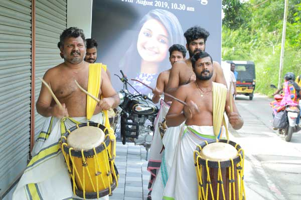 chenda melam drummers for inauguration -Launch & Inaugurations by Red Carpet Events at Kochi Kozhikode kerala India Corporate Events Gallery
