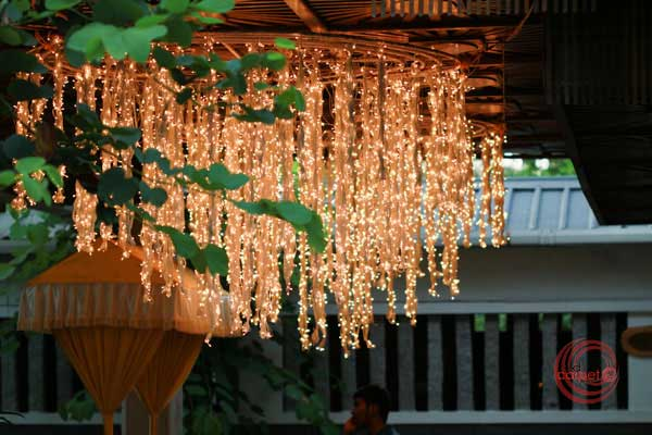 custom chandelier with mirchi lamps lighting decor