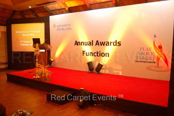 Annual award meet -MICE by Red Carpet Events at Cardamom County Kumily Kerala India Corporate Events Gallery