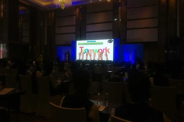 Employee motivation session -MICE by Red Carpet Events at Grand Hyatt Hyderabad India Corporate Events Gallery