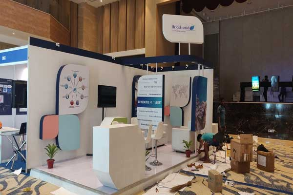Customised exhibition stall -MICE by Red Carpet Events at Grand Hyatt Bolgatty Kochi Kerala India Corporate Events Gallery
