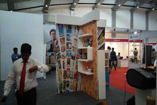 Stall fabrication Industrial exhibition -MICE by Red Carpet Events at CIAL convention center Kochi Kerala India Corporate Events Gallery