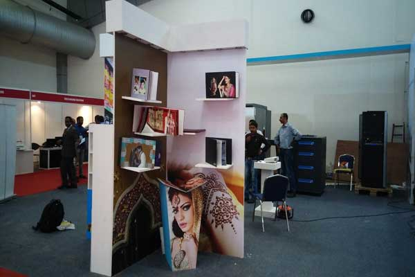 printing technology exhibition stall fabrication