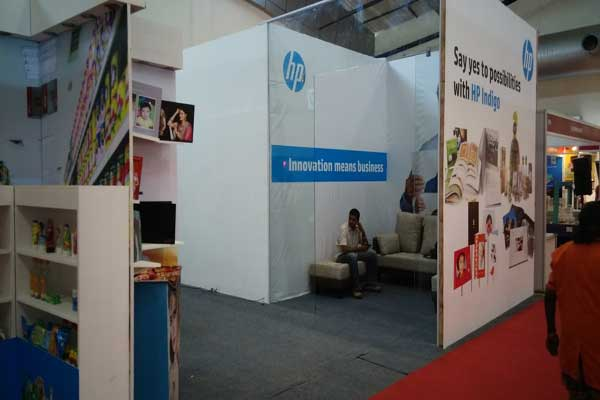 consumer exhibition stall fabrication
