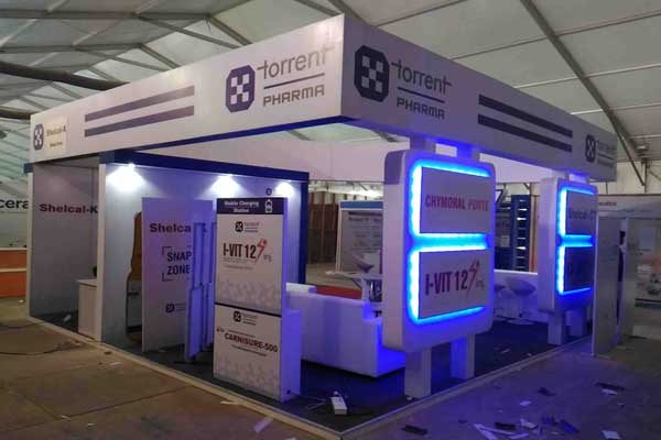exhibition stall fabrication -MICE by Red Carpet Events at Lulu bolgatty convention centre Kochi Kerala India Corporate Events Gallery