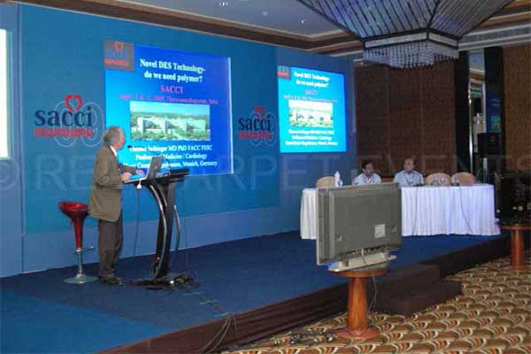Medical conference with Live feed -MICE by Red Carpet Events at Taj Gateway Thiruvananthapuram Kerala India Corporate Events Gallery