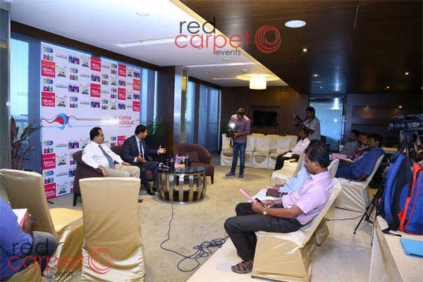 Press Meet celebrity -MICE by Red Carpet Events at Hotel Crowne plaza Kochi Kerala India Corporate Events Gallery