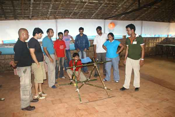 strategy game indoor -Team Building by Red Carpet Events at Hotel Le Meridian Kochi Kerala India Corporate Events Gallery