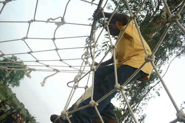 obstacles -Team Building by Red Carpet Events at Ramada resort Kochi kerala India Corporate Events Gallery