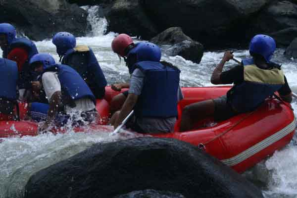 white water rafting -Team Building by Red Carpet Events at Vythiri resort Wayanad kerala India Corporate Events Gallery