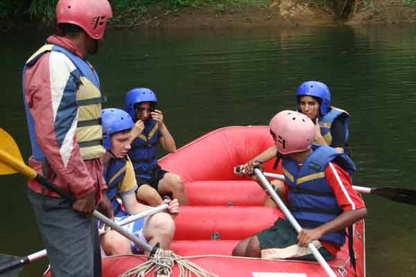 white water rafting -Team Building by Red Carpet Events at Kochi kozhikode kottayam kerala India Corporate Events Gallery