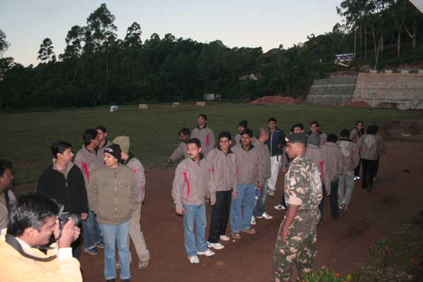Military training -Team Building by Red Carpet Events at Kumarakom Lake resort Kottayam kerala India Corporate Events Gallery