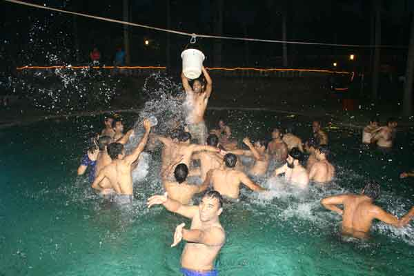 pool volley -Team Building by Red Carpet Events at Kumarakom lake resort Kottayam kerala India Corporate Events Gallery