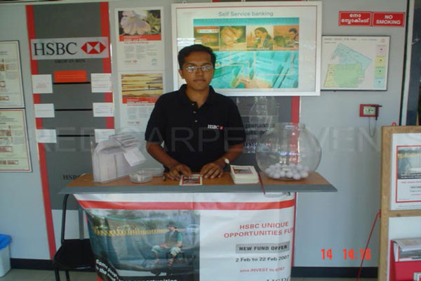Manned Kiosk help desk -BTL Activations by Red Carpet Events at Airports Kerala India Corporate Events Gallery