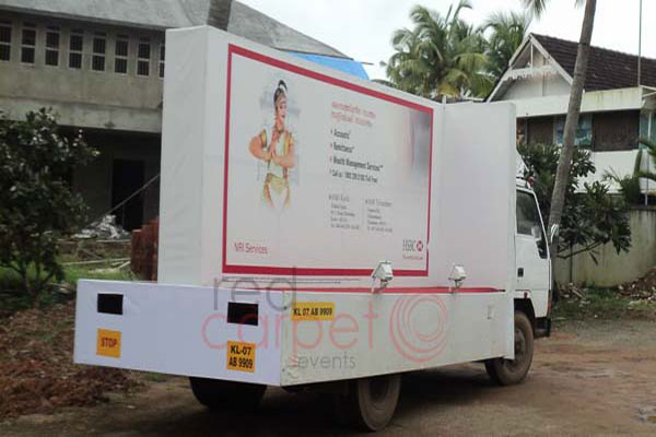 Eicher roadshow -BTL Activations by Red Carpet Events at residential area parks kerala India Corporate Events Gallery