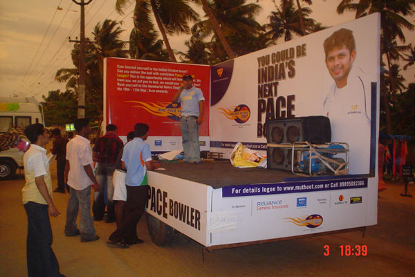 tata 407 roadshow -BTL Activations by Red Carpet Events at clubs parks colleges kerala India Corporate Events Gallery
