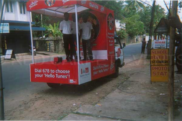 road show tata 407 -BTL Activations by Red Carpet Events at residential area offices kerala India Corporate Events Gallery