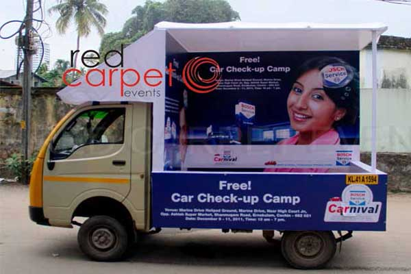 tata ace road show -BTL Activations by Red Carpet Events at residential areas flats villas kerala India Corporate Events Gallery