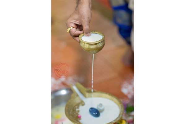 brahmin ritual ksheera abhishekam milk pouring -shashtipoorthi by Red Carpet Events at palakkad coimbatore kerala India Wedding Planning Gallery
