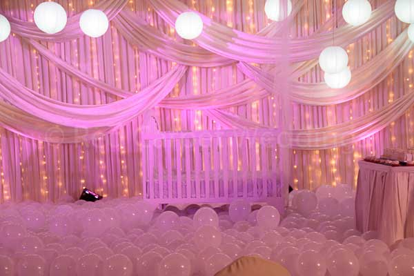 Pink & white theme -Birthdays and Baptism planning by Red Carpet Events at Radisson Blu Kochi Kerala India Wedding Planning Gallery