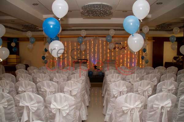 blue & white theme -Birthdays and Baptism planning by Red Carpet Events at N M County Irimpanam Kochi Kerala India Wedding Planning Gallery
