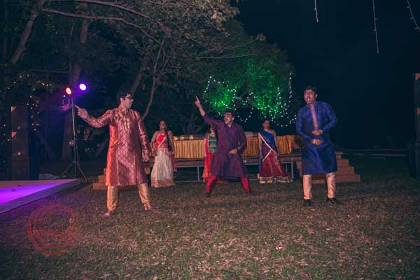 Dance masti sangeet night iyer nair ceremony -Destination wedding by Red Carpet Events at punnamada resort alappuzha kerala India Wedding Planning Gallery