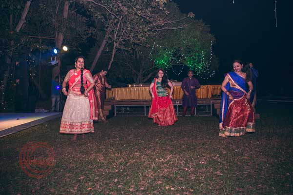 how can be the ladies far behind for dancing -Destination wedding by Red Carpet Events at punnamada resort alappuzha kerala India Wedding Planning Gallery