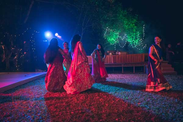 sangeet night celebration iyer nair -Destination wedding by Red Carpet Events at punnamada resort alappuzha kerala India Wedding Planning Gallery