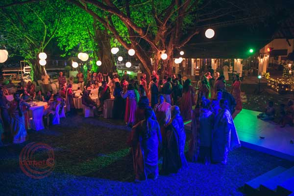 sangeet celbration iyer brahmin -Destination wedding by Red Carpet Events at punnamada resort alappuzha kerala India Wedding Planning Gallery