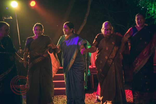 age is just a number ladies dancing sangeet night -Destination wedding by Red Carpet Events at punnamada resort alappuzha kerala India Wedding Planning Gallery