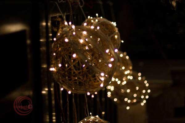 hanging mirchi light balls lighting decor