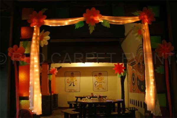 Hawaii theme arch -Birthdays and Baptism planning by Red Carpet Events at sterling resort munnar kerala India Wedding Planning Gallery