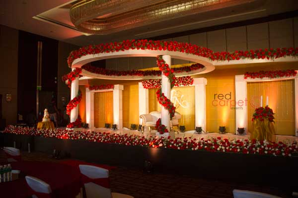betrothal stage -Christian wedding planning by Red Carpet Events at Hotel Crowne plaza kochi kerala India Wedding Planning Gallery