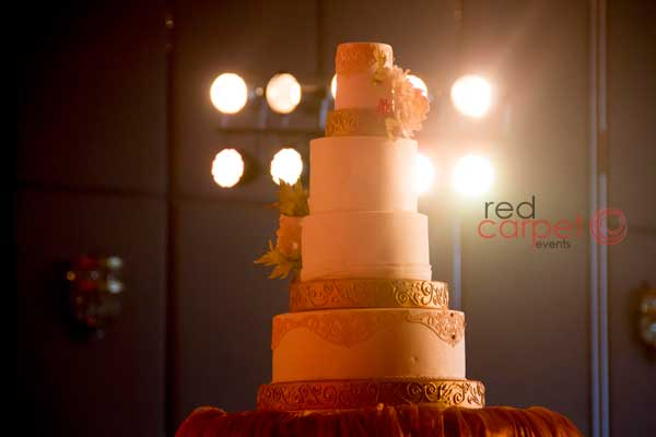 designer cake for betrothal function -Christian wedding planning by Red Carpet Events at Hotel crowne plaza kochi kerala India Wedding Planning Gallery