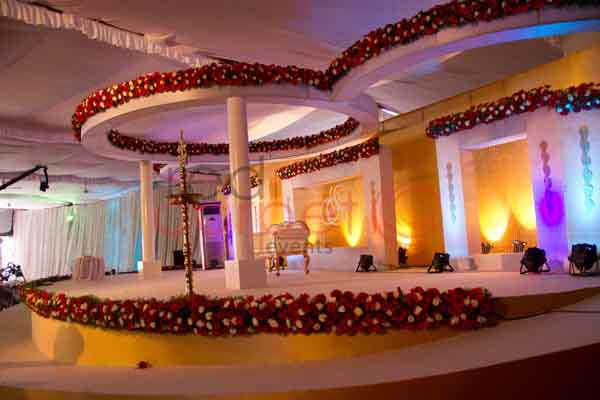 betrothal stage with ramp