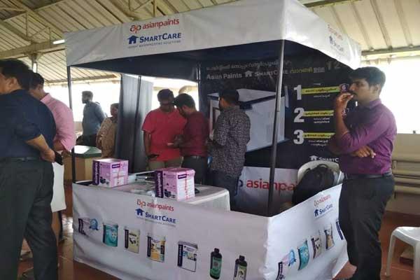 sponsored promotion kiosk