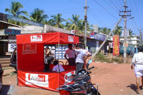 Manned Kiosk -BTL Activations by Red Carpet Events at colleges Kerala India Corporate Events Gallery