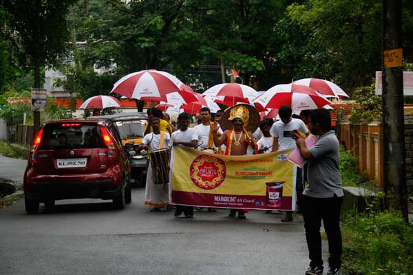Procession rally onam -BTL Activations by Red Carpet Events at Dealer outlets Kerala India Corporate Events Gallery